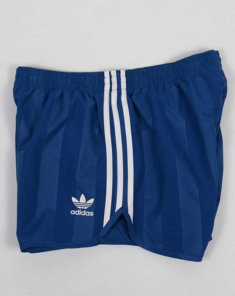 Adidas Originals Retro Shorts In Blue Cf5303   Retro shorts