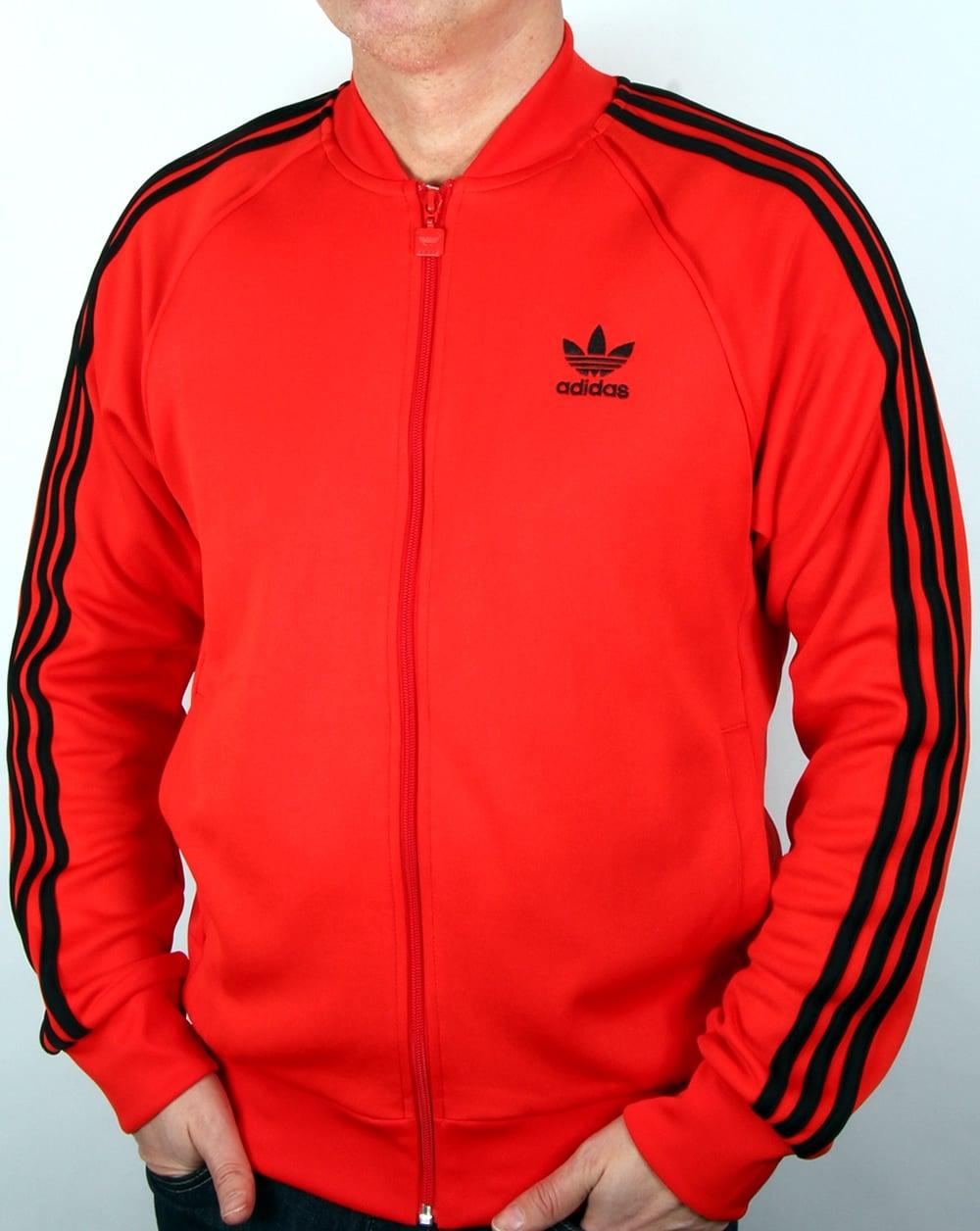 Adidas Originals Superstar Track Top Core Red, Men's, Jacket
