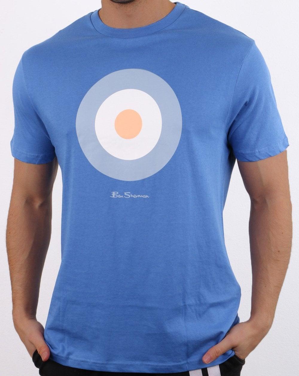 Ben Sherman Target T shirt Blue