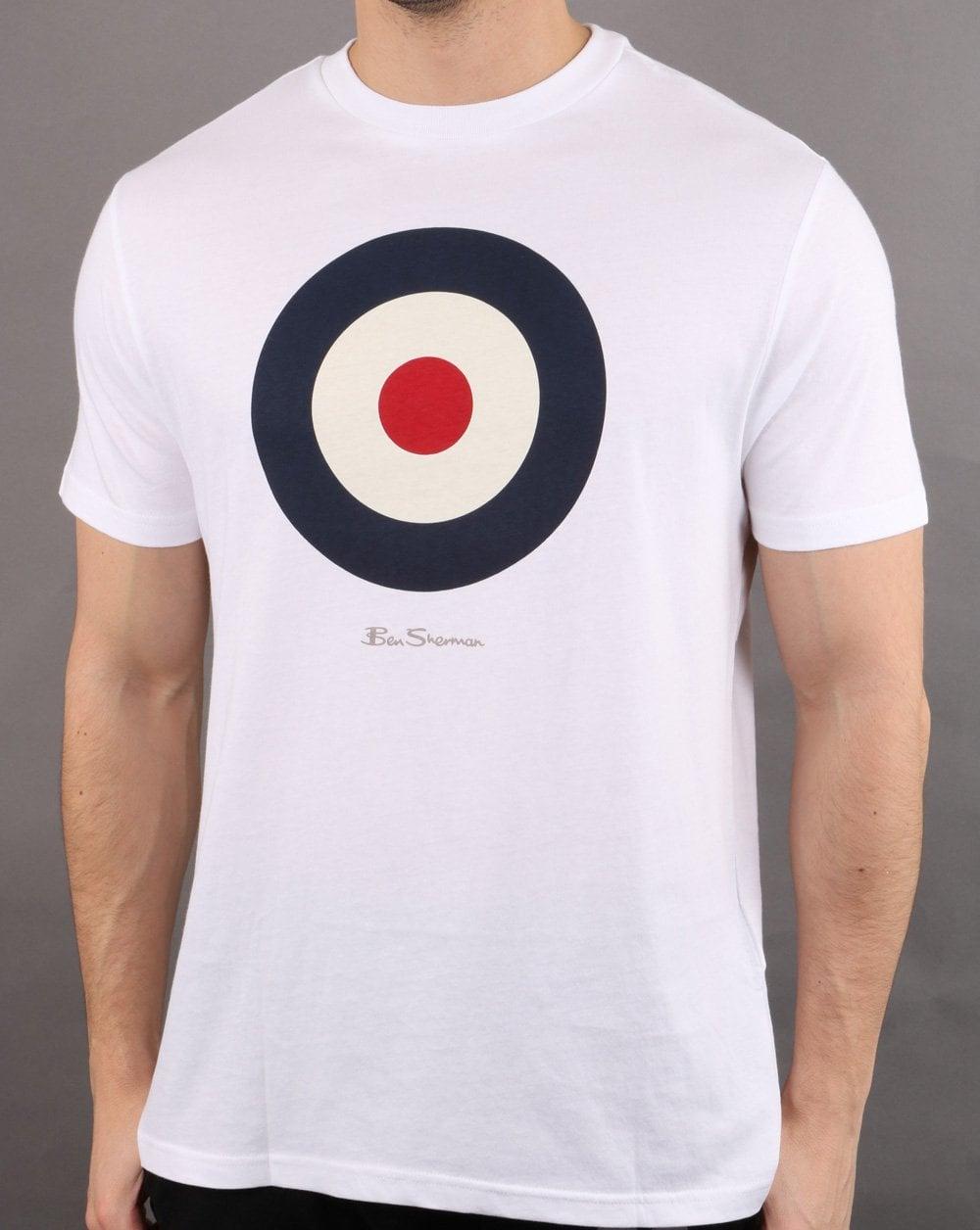 Ben Sherman Target T shirt White